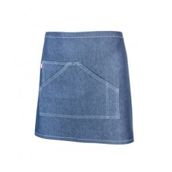 Avental Denim Curto