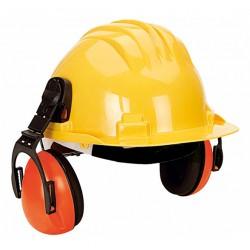 Capacete Proteção com Auricular 5-RG