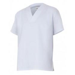 Camisola Manga Curta Branca